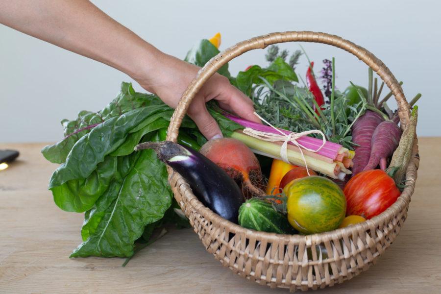Gemüsekorb, Foto von Alfred Grand