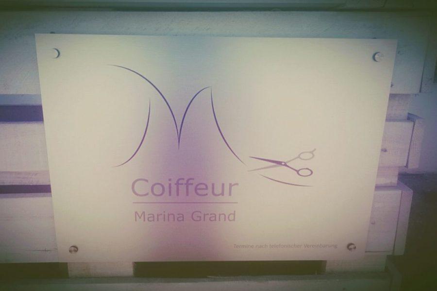 Logo Coiffeur Marina Grand, Foto von Marina Grand