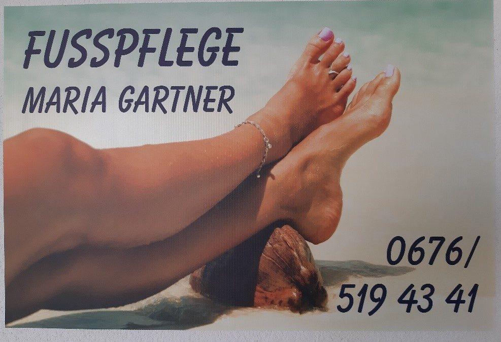 FUSSPFLEGE MARIA GARTNER